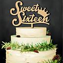 ราคาถูก ของปาร์ตี้-ตกแต่งงานแต่งงานของวันเกิดไม้สไตล์ผู้หญิงคลาสสิก