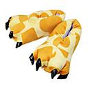 ราคาถูก เหยื่อตกปลา-ผู้ใหญ่ Kigurumi Slippers ยีราฟ รูปสัตว์ Onesie Pajama เส้นใยสังเคราะห์ ฝ้าย สีเหลือง คอสเพลย์ สำหรับ ผู้ชายและผู้หญิง สัตว์ชุดนอน การ์ตูน Festival / Holiday เครื่องแต่งกาย / รองเท้า