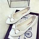Χαμηλού Κόστους Γυναικεία παπούτσια γάμου-Γυναικεία Χωρίς Τακούνι Φιόγκος Λουστρίν Μπαλαρίνα Άνοιξη / Καλοκαίρι Μαύρο / Ροζ / Αμύγδαλο / EU39