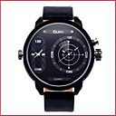 ราคาถูก รองเท้าOxfordสำหรับผู้ชาย-สำหรับผู้ชาย นาฬิกาใส่ลำลอง นาฬิกาแฟชั่น นาฬิกาข้อมือ นาฬิกาอิเล็กทรอนิกส์ (Quartz) หนัง ระบบอนาล็อก สีเหลือง แดง ฟ้า