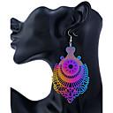 povoljno Modne naušnice-Žene Viseće naušnice Okrugle naušnice dame Personalized Moda Naušnice Jewelry Duga Za Stage Izlasci