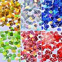 Χαμηλού Κόστους νυχιών Glitter-6pcs Πούλιες Για τέχνη νυχιών Μανικιούρ Πεντικιούρ Κλασσικό / Λαμπερό / Χριστούγεννα Καθημερινά