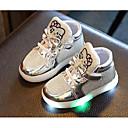 povoljno Dječje čizme-Djevojčice LED / Udobne cipele PU Sneakers Mala djeca (4-7s) Zlato / Srebro / Fuksija Jesen / Zima