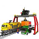 Χαμηλού Κόστους Building Blocks-AUSINI Τουβλάκια Νεκρή Φύση / Οχήματα / Ουρά Κλασσικό & Διαχρονικό / Κομψό & Μοντέρνο / Μοντέρνα Τρένο Δώρο