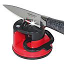 Χαμηλού Κόστους Μαχαιροπήρουνα-Ανοξείδωτο ατσάλι Πλαστικό--Ακονιστήρι μαχαιριών Ξύστρα
