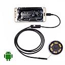 Χαμηλού Κόστους Μικροσκόπια και ενδοσκόπια-usb ενδοσκόπιο κάμερα 5m σκληρό καλώδιο αδιάβροχο ip67 επιθεώρηση borescope 5.5mm φακό βράδυ βιντεοκάμερα φίδι για το Android pc