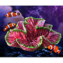 Χαμηλού Κόστους Διακόσμηση &Χαλίκια Ενυδρείου-Ενυδρείο ψαριών Διακόσμηση Ενυδρείου Γυάλα για Ψάρια Βράχοι Κοραλί Μέδουσα Ρητίνη 12*9*5.5 cm