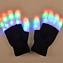 billiga Temporära färger-LED-belysning LED-handskar Fingerljus Jul Semester Belysning Fingertopp Vuxna Leksaker Present 2 pcs