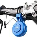 billige Bell & Låser & Mirrors-Elektrisk sykkelhorn Nød Alarm 3 lydmoduser Verneutstyr til Vei Sykkel Fjellsykkel BMX TT Sykkel med fast gir Sykling Gummi PC ABS Svart Rød Blå 1 pcs