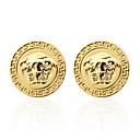 Χαμηλού Κόστους Μανικετόκουμπα Ανδρικά-Butoni Ψαροκόκαλο Καρφίτσα Κοσμήματα Ασημί Χρυσαφί Για Γάμου