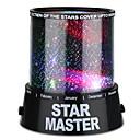 billige Projektorlys-Stjernehimmellampe Stjernelampe LED-belysning Star Light Projector Fargerike Twilight Plast ABS Gutt Leketøy Gave