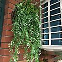 Χαμηλού Κόστους Τεχνητά φυτά-Ψεύτικα λουλούδια 2 Κλαδί μινιμαλιστικό στυλ Ποιμενικό Στυλ Φυτά Λουλούδι για Τραπέζι