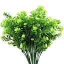 billige Kunstige planter-Kunstige blomster 2 Gren Pastorale Stilen Hortensiaer Bordblomst