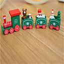ราคาถูก ของเล่นวันคริสต์มาส-ตกแต่งวันคริสมาสต์ ของขวัญวันคริสต์มาส ของเล่นคริสมาสต์ รถไฟ Christmas วันหยุด Train เด็ก Snowman ทำด้วยไม้ สำหรับเด็ก ผู้ใหญ่ เด็กผู้ชาย เด็กผู้หญิง Toy ของขวัญ 1 pcs