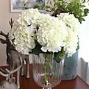 ราคาถูก ไฟติดผนังภายนอก-ดอกไม้ประดิษฐ์ 1 สาขา เกี่ยวกับยุโรป ดอกไม้ Hydrangeas ดอกไม้วางบนโต๊ะ
