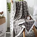 billiga Köksredskap och -apparater-Soffa kasta, Rutig Polyester Bekväm filtar