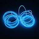 billige Overvåkningskameraer-BRELONG® 5 m Lysslynger 0 LED Hvit / Rød / Blå Fest / Dekorativ / Neon Elektroluminescerende Wire 1pc