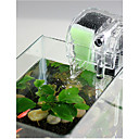 billiga Tillbehör till fiskar och akvarium-Akvarium Akvarium Fish Tank Filter Akvariefilter Dammsugare Vattentät Kan maskintvättas Transparent Vattenfall ABS plast 1st 220-240 V / #