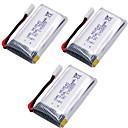 billige Deler og tilbehør til radiostyrte enheter-SH5 SH5W SH5HD X52HD 3 deler batteri Generell / Rc Kvadrokoptere Generell / Rc Kvadrokoptere -