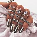 Χαμηλού Κόστους Μοδάτο Δαχτυλίδι-Γυναικεία Δαχτυλίδι για τη μέση των δαχτύλων Ασημί Μεταλλικό Κράμα Χέρι της Φατιμά κυρίες Βίντατζ Καθημερινά Μπαρ Κοσμήματα