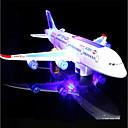 billiga Lys upp leksaker-LED-belysning / Modellbyggset Semester / Födelsedag / Flygplan Musik / Bakgrundsbelysning / Elektrisk Barn Present