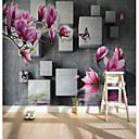 povoljno Mural-magnolija trgovi prilagođeni 3d velike zidne obloge zidne tapete prilagođene restoranu tv pozadini cvijet stablo