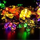 Χαμηλού Κόστους Αντιανεμικά ,Φλις & Μπουφάν Πεζοπορίας-5m Φώτα σε Κορδόνι 20 LEDs Μικροδιακόπτες (Dip) LED Άσπρο / Μπλε / Κίτρινο 1pc