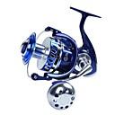 Χαμηλού Κόστους Δολώματα & Τεχνητά Δολώματα-Μηχανισμοί Ψαρέματος Περιστρεφόμενοι Μηχανισμοί / Συρτοί Μηχανισμοί 4.7:1 Αναλογία Ταχυτήτων+13 Ρουλεμάν Προσανατολισμός χέρι ανταλλάξιμο Θαλάσσιο Ψάρεμα / Περιστρεφόμενο / Jigging Fishing - MX6000