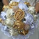 """Χαμηλού Κόστους Μαξιλαράκια για Βέρες-Λουλούδια Γάμου Μπουκέτα / Μοναδική γαμήλια διακόσμηση Ειδική Περίσταση Μετάξι 9,84 """" (περίπου25εκ)"""
