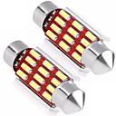 billiga Car Exterior Lights-2pcs Stationär Glödlampor 6W SMD 4014 12 Utomhuslampor lampor For Universell Universell Universell