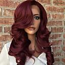 Χαμηλού Κόστους Εξτένσιος μαλλιών με φυσικό χρώμα-Φυσικά μαλλιά Δαντέλα Μπροστά Χωρίς Κόλλα Δαντέλα Μπροστά Περούκα Κούρεμα καρέ Κούρεμα με φιλάρισμα Με αφέλειες στυλ Βραζιλιάνικη Κυματομορφή Σώματος Ombre Περούκα 130% Πυκνότητα μαλλιών