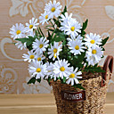 Χαμηλού Κόστους Διακοσμητικά Γάμου-Ψεύτικα λουλούδια 1 Κλαδί Ποιμενικό Στυλ Μαργαρίτες Λουλούδι για Τραπέζι