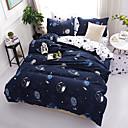 billige Moderne dynetrekk-dynetrekk setter moderne poly / bomullsreaktive trykk 4 stk sengetøy sett kongen