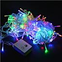 Χαμηλού Κόστους Λάμπες Σφαίρα LED-χριστουγεννιάτικα φώτα 20m / 200leds οδήγησε string 220v για διακοπές / πάρτι / γάμος / νέα χρόνια σπίτι διακόσμηση