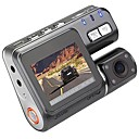 billige Dørlås-I1000 1080p Bil DVR 110 Degree Bred vinkel 1.8 tommers LCD Dash Cam med Bevegelsessensor 4 infrarøde LED Bilopptaker