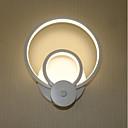 Χαμηλού Κόστους Απλίκες Τοίχου-Σύγχρονη Σύγχρονη Λαμπτήρες τοίχου Σαλόνι / Εσωτερικό αλουμίνιο Wall Light 110-120 V / 220-240 V 17 W / Ενσωματωμένο LED