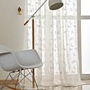 olcso Áltátszó drapériák-bohém puszta függöny árnyalatok beltéri két panel hímzés hálószoba