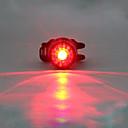 billige Sykkeljerseys-LED Sykkellykter Baklys til sykkel sikkerhet lys LED Fjellsykling Sykkel Sykling Vanntett Flere moduser Bærbar Advarsel Lithium USB 180 lm Innebygd Li-batteridrevet Rød Camping / Vandring / Grotte