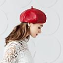 Χαμηλού Κόστους Καπέλα και Διακοσμητικά-Δέρμα Kentucky Derby Hat / Καπέλα με 1 Γάμου / Πάρτι / Βράδυ Headpiece