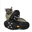 ราคาถูก จุกหัวเกียร์-รองเท้าปีนเขา รองเท้าเจาะน้ำแข็ง มีขา ป้องกันการลื่นไถล เคลื่อนที่ เมทัลลิก ยาง แคมป์ปิ้ง & การปีนเขา แคมป์ปิ้ง / การปีนเขา / เที่ยวถ้ำ 2 pcs สีดำ