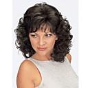 Χαμηλού Κόστους Συνθετικές περούκες χωρίς σκουφί-Συνθετικές Περούκες Σγουρά Σγουρά Περούκα Ξανθό Κοντό Ανοικτό Χρυσαφί Ανοικτό Καφέ Μεσαίο Καφέ Χρυσό Μπεζ Συνθετικά μαλλιά Γυναικεία Μαλλιά μπαλαγιάζ Ξανθό Καφέ StrongBeauty