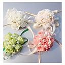 """ราคาถูก ดอกไม้งานแต่งงาน-ดอกไม้สำหรับงานแต่งงาน ช่อดอกไม้ข้อมือ งานแต่งงาน โอกาสพิเศษ ผ้าไหม 0.39""""(ประมาณ 1ซม.)"""