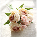 ราคาถูก ไฟติดผนังภายนอก-ดอกไม้ประดิษฐ์ 8.0 สาขา สไตล์สมัยใหม่ Peonies ดอกไม้วางบนโต๊ะ