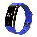 billiga Syntetiska peruker utan hätta-V8I Unisex Smart Armband Android iOS Bluetooth Brända Kalorier Bluetooth Touch Sensor Träningslogg Stegräknare Puls Tracker Stegräknare Samtalspåminnelse Aktivitetsmonitor Sleeptracker / Alarmklocka