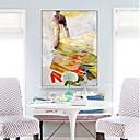 זול אומנות ממוסגרת-מופשט ציור שמן וול ארט,סגסוגת חוֹמֶר עם מסגרת For קישוט הבית אמנות מסגרת חדר שינה חדר אוכל
