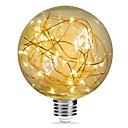 ราคาถูก หลอดไฟ-1pc 3 W หลอดไฟLED Filament 200 lm E26 / E27 G95 33 ลูกปัด LED SMD ตกแต่ง แจ่มจรัส ตกแต่งงานแต่งงานในเทศกาลคริสต์มาส ขาวนวล 85-265 V / RoHs