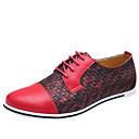 billiga Zentai-Herr Novelty Shoes Mikrofiber Vår / Höst Ledigt Oxfordskor Svart / Gul / Röd / Kombination / Utomhus / EU40