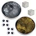 ราคาถูก ของเล่นแม่เหล็ก-2 pcs Magnetiske leker Magnetic Putty Building Blocks ซูเปอร์แข็งแกร่งหายากของโลกแม่เหล็ก Neodymium Magnet Puzzle Cube Magnetic DIY / ดีไซน์มาใหม่