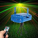 baratos Luzes de Palco-U'King Luz de Palco Laser Ativo por Som / Controle Remoto / Ativação Musical 10 W para Para a Casa / Exterior / De Festa Profissional