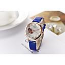 ราคาถูก รองเท้าส้นสูงผู้หญิง-สำหรับผู้หญิง นาฬิกาแฟชั่น นาฬิกาข้อมือ จำลอง Diamond Watch นาฬิกาอิเล็กทรอนิกส์ (Quartz) PU Leather ดำ / สีขาว / ฟ้า 30 m แกะสลักกลวง เลียนแบบเพชร ระบบอนาล็อก วิบวับ ไม่เป็นทางการ สง่างาม -
